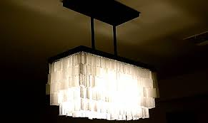 faux capiz pendant chandelier decor s shell chandeliers for bedrooms
