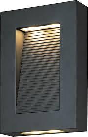 contemporary sconce lighting. Maxim 54350ABZ Avenue Contemporary Architectural Bronze LED Outdoor Wall Sconce Lighting. Loading Zoom Lighting I