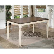 Rectangle Dining Room Tables Signature Design By Ashley Whitesburg Rectangular Dining Table