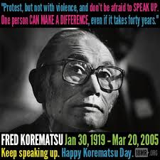 Fred Korematsu Quotes Magnificent Cool Quotes On Japanese Internment Fred Korematsu Quotes