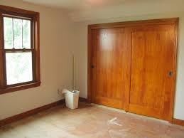 awesome closet doors sliding for your home interior decor ideas glossy wood closet doors sliding