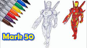 Check out iron man simulator 2 beta. Mark 50 Ironman Iron Man The Avengers Endgame Coloring Pages Sailany Coloring Kids Youtube