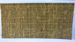 Woven Bamboo Slat Fence
