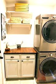 over under washer dryer. Stackable Washer Dryer Cabinet Cabinets Around Stacked And Stacking Laundry Room Over Under O