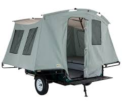 littlegiant treehaus camper tent and utility trailer view larger