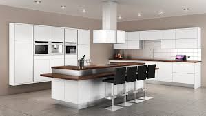 White Modern Kitchen Design - White modern kitchen