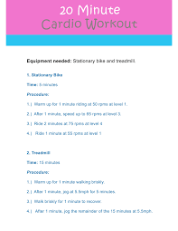 gym workout routines for cardio ltt