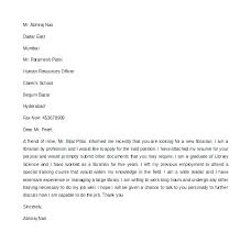 Cover Letter For Library Assistant Job Cover Letter For Librarian Letter Bestkitchenview Co