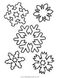 Small Picture Free Snowflake Coloring Pages at Best All Coloring Pages Tips