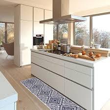 oriental trellis hallway kitchen runner rug long non slip mr fantasy modern geometric kitchen mat carpet