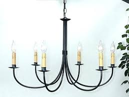 black wrought iron ceiling light fixture fan with semi flush lights chandelier lighting glamorous chan