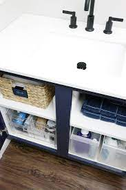 Iheart Organizing Doubling Up On Under The Sink Storage Space