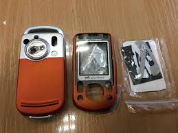Корпус Sony Ericsson W550 Оранжевый ...