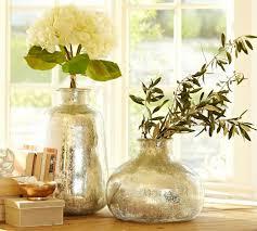 bubble mercury glass vases