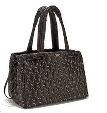 NEW Victoria's Secret Glam Rock Quilted Travel Tote Black Studded ... & Image is loading NEW-Victoria-039-s-Secret-Glam-Rock-Quilted- Adamdwight.com