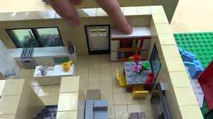 Lego House Plans Lego House American Style And Red House Interior By Corneliusarts