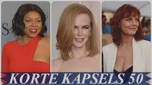 Korte Kapsels Dames 50 Ovaal Gezicht Uniek 16 Beste Afbeeldingen Van