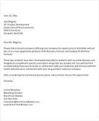 Sales Proposal Letter Beauteous 48 Business Proposal Letter Examples PDF DOC