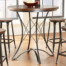 Round 36 Inch Counter Height Kitchen Dining Table Fastfurnishingscom