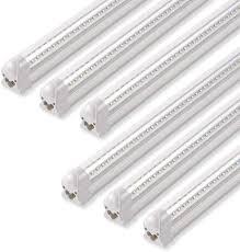 T8 Light Barrina Led Shop Light 40w 5000lm 5000k 4ft Integrated Fixture V Shape T8 Light Tube Daylight White Clear Cover Hight Output Strip Lights Bulb