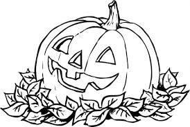 Pumpkin Patch Coloring Pages Halloweenfunky 14167