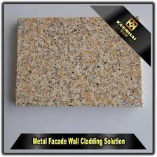 decorative imitation stone grain aluminum wall cladding panel design