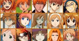 characters with orange hair