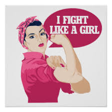 Image result for fight like a girl