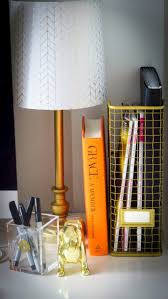 chic office space. i like the wire magazine holder find this pin and more on chic office spaces space