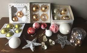 Alter Christbaumschmuck Deko Weihnachten Baumkugeln Konvolut