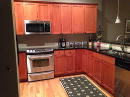 Kitchen. Paint, Benjamin Moore, Ashley Gray, HC 87. Rugs,