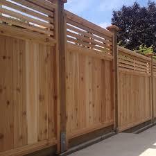 wood fence panels. Venetian Wood Fence Panels