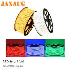 Led Mesh Rope Lights Us 1 0 Led Strip 100m Roll Ac110v Ac220v 5050 Rgb Outdoor Led Rope Light 10m 20m 30m 50m Green Blue Red Warm White Ledstrip Light In Led