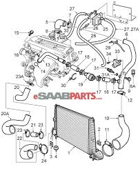 com saab > engine parts > turbo com saab 9 5 9600 > engine parts > turbo intercooler > charge air cooler