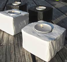 Diy Tea Light Candle Holders Diy Tealight Candle Holders Crafts Cement Projects