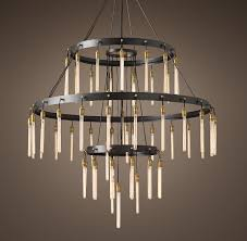 axis 3 tier chandelier 60 品牌 restoration hardware