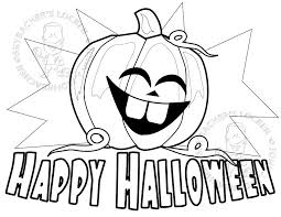 Small Picture Free Happy Halloween Coloring Page Skybachers Locker