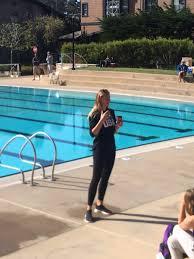 """Stevenson Athletics on Twitter: """"Olympic Gold medalist, KK Clark starting  the girls polo clinic at our very own Stevenson Pool!… """""""