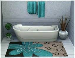 turquoise and brown rug tasty bathroom area rugs plans free with storage design fresh in round turquoise area rugs