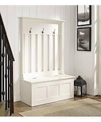 white entryway furniture. White Ogden Entryway Hall Tree/storage Bench Furniture