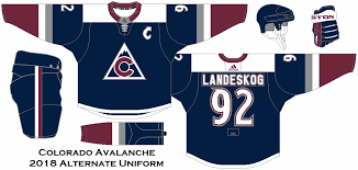 Shop avalanche jersey deals on official colorado avalanche jerseys at the official online store of the national hockey league. 2018 Nhl Alternate Uniform Concepts Colorado Avalanche Custom Jerseys Uniform Design Colorado Avalanche
