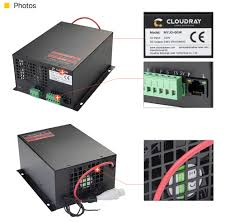 Cloudray <b>60W CO2 Laser Power</b> Supply for CO2 Laser Engraving ...