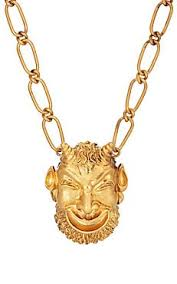 gucci necklace mens. gucci mask of silenus pendant necklace mens