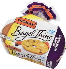thomas cinnamon raisin bagel thins nutrition facts besto