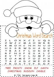 Small Picture Printables easy christmas word search for kids Printable