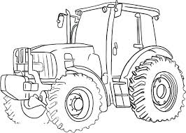 Free Colouring Pages Tractors Coloring Page Farm Shoot Of