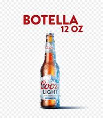 Coors Light Beverage Center Beer Bottle Png Download 640 1025 Free Transparent Beer