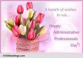 Administative Day Administrative Professionals Day Cards Free Administrative