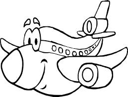 Coloriage Avion Rigolo Imprimer Sur Coloriages Info