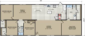 double wide floor plans 4 bedroom 3 bath. Brilliant Plans Redman Homes Double Wides Single Wide Mobile Home Floor Plans 3 Bedroom  Incredible 4  And Double Wide Floor Plans Bedroom Bath S